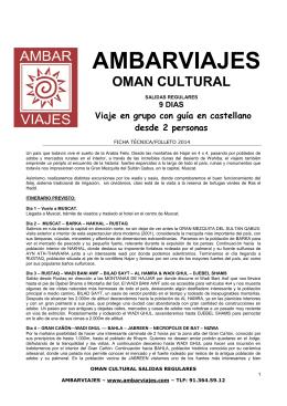 AMBARVIAJES - Kananga y Ambar