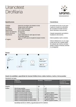 Uranotest Dirofilaria
