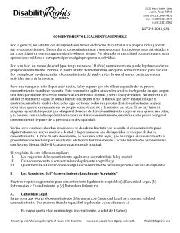 Consentimiento Legalmente Aceptable