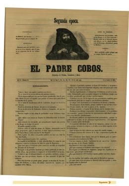 EL PADRE COBOS. - Biblioteca Virtual Miguel de Cervantes