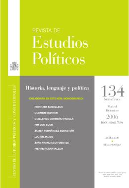 Estudios Políticos - Profesor Dr. Javier Fernández Sebastián