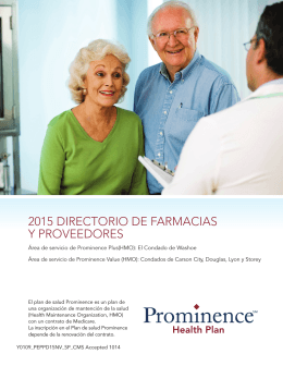 2015 Nevada Provider/Pharmacy Directory (Spanish)