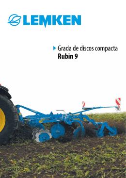 Grada de discos compacta Rubin 9