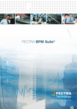 PECTRA BPM Suite®