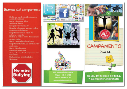 folleto campa 2014