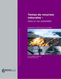 Temas de recursos naturales -