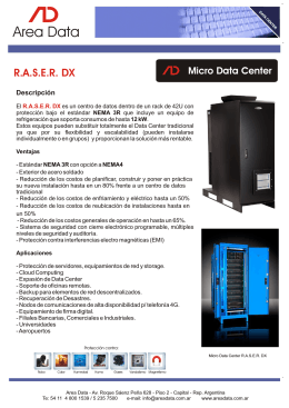 Folleto RASER DX (SP)