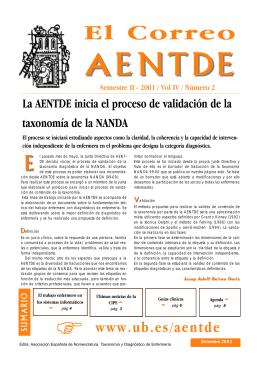 El Correo - Asociación Española de Nomenclatura, Taxonomía y