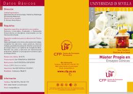 ENSAYOS CLÍNICOS v3 - Centro de Formación Permanente