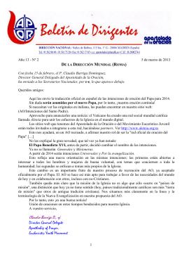 Boletín de Dirigentes Año 13 nº 2