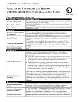 Para Empleados de Facility Solutions Group Requisito de