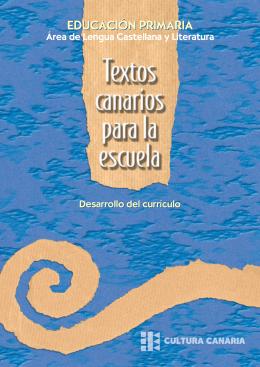 Textos canarios para la escuela.