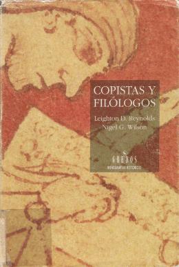 copistas y filólogos