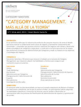 """CATEGORY MANAGEMENT."