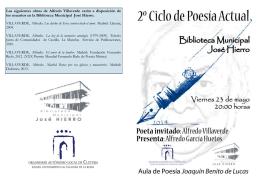 Programa Alfredo Villaverde