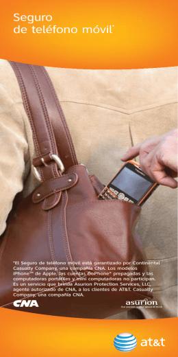 Seguro de teléfono móvil* - Wireless