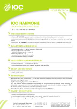 FT LEVURE IOC HARMONIE (ES)