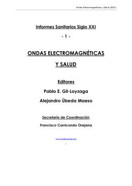 ondas electromagnéticas y salud - Escuela Técnica Superior de
