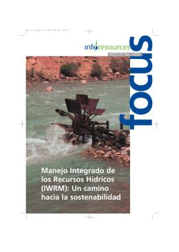 Manejo Integrado de los Recursos Hídricos (IWRM
