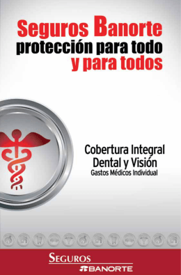 Guía Dental y Visión gastos Médicos Individual