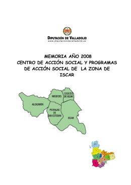 memoria año 2008 centro de acción social y programas de