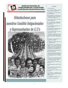 II. El Proyecto Político Sindical democra tico para el SNTE (2)