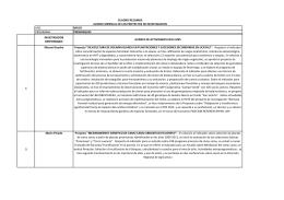 avance de investigación mensual 2012