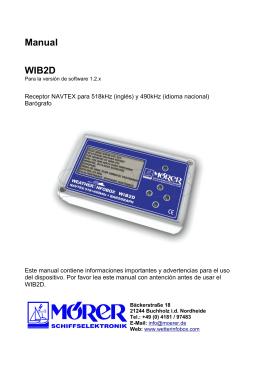 Manual WIB2D