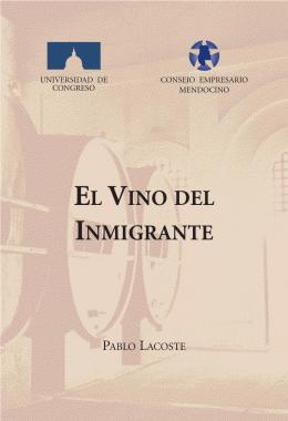 El Vino del Inmigrante