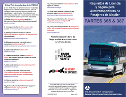 PARTES 365 & 387 - Professional Safety Consulting