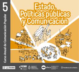 Estado, Politicas Públicas y Comunicación
