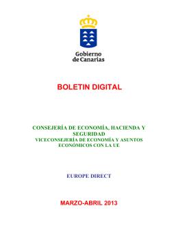 Boletín digital marzo.abril 2013
