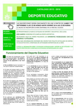 DEPORTE EDUCATIVO