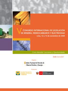 congreso internacional de legislación de minería