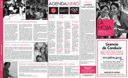 AGENDAJUNIO - Municipio de Quilmes