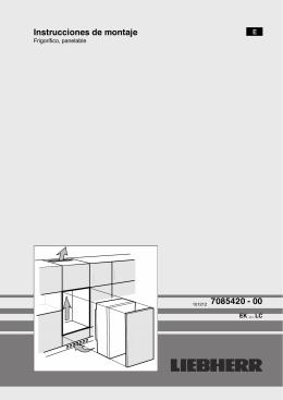 Instrucciones de montaje 101212 7085420