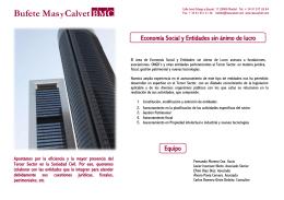 Bufete MasyCalvet BMC Bufete M BMC Bufete M
