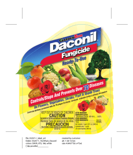 Daconil® - Do My Own Pest Control