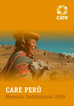 CARE Perú Memoria Anual 2009