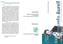 folleto burell 2007 color - IES FRANCISCO GINER DE LOS RÍOS