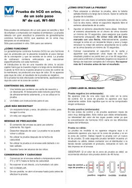 manual del producto