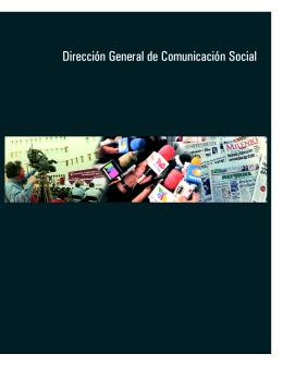 Dirección General de Comunicación Social
