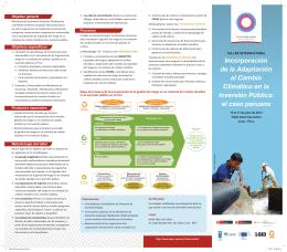 Agenda del Taller Internacional - Proyecto Inversión Pública y
