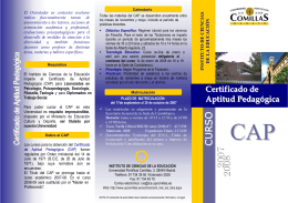 Folleto CAP 2007-08