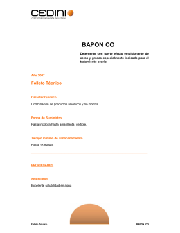 BAPON CO