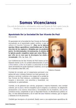 Somos Vicencianos