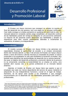 Desarrollo Profesional y Promoción Laboral