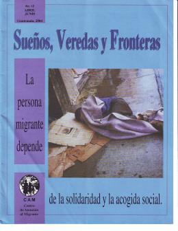 Sueños, Veredas y Fronteras NO. 12 - Abril