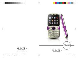 Descargar - ALCATEL ONETOUCH
