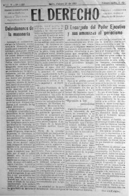 ~1 EncarJado del Poder Ejecutivo - Biblioteca Nacional del Ecuador